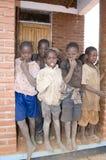 αφρικανικό σχολείο πρωτ&omi Στοκ φωτογραφία με δικαίωμα ελεύθερης χρήσης