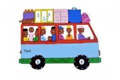 αφρικανικό ταξί Στοκ Εικόνες