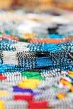 Αφρικανικό υπόβαθρο χαντρών γυαλιού Στοκ φωτογραφία με δικαίωμα ελεύθερης χρήσης
