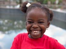 αφρικανικό χαμόγελο παι&delta Στοκ φωτογραφίες με δικαίωμα ελεύθερης χρήσης