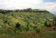 αφρικανικό χωριό Στοκ εικόνα με δικαίωμα ελεύθερης χρήσης