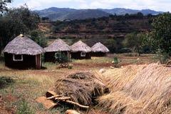 αφρικανικό χωριό Στοκ φωτογραφία με δικαίωμα ελεύθερης χρήσης