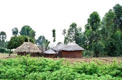αφρικανικό χώμα σπιτιών Στοκ Εικόνες
