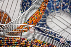 Αφρικανικό beadwork Στοκ εικόνα με δικαίωμα ελεύθερης χρήσης