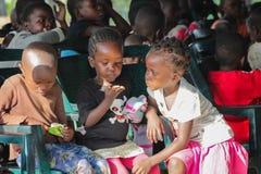 Αφρικανός λίγο πορτρέτο παιδιών, αφρικανικά αγόρι και κορίτσια στοκ φωτογραφίες με δικαίωμα ελεύθερης χρήσης