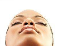 αφροαμερικανίδα ομορφι Στοκ φωτογραφία με δικαίωμα ελεύθερης χρήσης