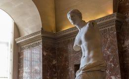 Αφροδίτη του Milo, το Λούβρο, Παρίσι, Γαλλία Στοκ Εικόνες