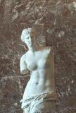 Αφροδίτη de Milo στο μουσείο του Λούβρου Στοκ Εικόνες