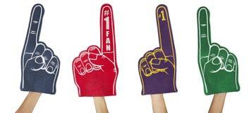 αφρός δάχτυλων ανεμιστήρω&