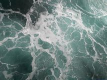 Αφρός στη θάλασσα στοκ εικόνες