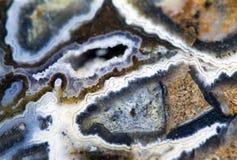 Αχάτης πετρών πολύτιμων λίθων Στοκ Φωτογραφίες