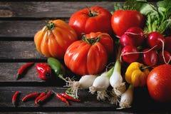λαχανικά αγοράς σωρών της Κίνας Στοκ εικόνες με δικαίωμα ελεύθερης χρήσης