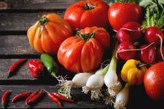 λαχανικά αγοράς σωρών της Κίνας Στοκ Εικόνες