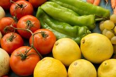 λαχανικά καρπών κολάζ Στοκ φωτογραφίες με δικαίωμα ελεύθερης χρήσης