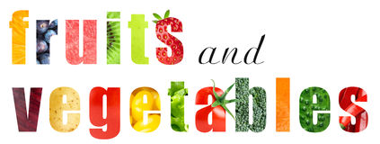 λαχανικά καρπών διανυσματική απεικόνιση