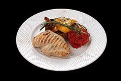 λαχανικά κρέατος κοτόπο&upsil Στοκ εικόνα με δικαίωμα ελεύθερης χρήσης