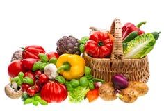 λαχανικά προϊόντων φρέσκιας αγοράς γεωργίας υπεραγορά αγορών πελατών τρόφιμα υγιή στοκ εικόνα με δικαίωμα ελεύθερης χρήσης