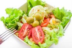 λαχανικά σαλάτας πρασίνων Στοκ Φωτογραφίες