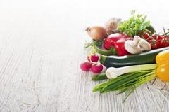 λαχανικά στοιχείων σχεδίου συλλογής Στοκ φωτογραφία με δικαίωμα ελεύθερης χρήσης