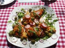 λαχανικά φρυγανιάς Στοκ Φωτογραφία