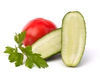 λαχανικό αγγουριών Στοκ Φωτογραφίες