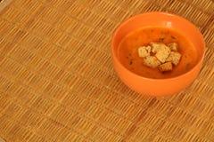 λαχανικό ντοματών σούπας κύπελλων στοκ φωτογραφία με δικαίωμα ελεύθερης χρήσης
