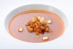 λαχανικό σούπας κρέμας Στοκ Εικόνες