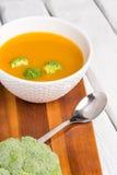 λαχανικό σούπας κρέμας Στοκ εικόνες με δικαίωμα ελεύθερης χρήσης