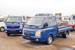 Αχθοφόρος της Hyundai στοκ εικόνες με δικαίωμα ελεύθερης χρήσης