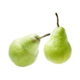 αχλάδια δύο στοκ εικόνα με δικαίωμα ελεύθερης χρήσης
