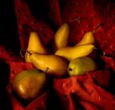 αχλάδια καλαθιών Στοκ Φωτογραφία