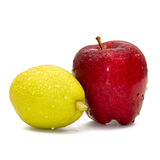 αχλάδια μήλων Στοκ εικόνα με δικαίωμα ελεύθερης χρήσης