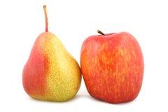 αχλάδια μήλων Στοκ φωτογραφίες με δικαίωμα ελεύθερης χρήσης