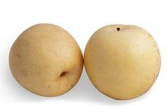 αχλάδια nashi στοκ φωτογραφίες