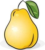 αχλάδι κίτρινο διανυσματική απεικόνιση