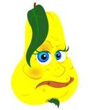 αχλάδι κίτρινο ελεύθερη απεικόνιση δικαιώματος
