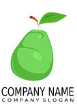αχλάδι λογότυπων διανυσματική απεικόνιση