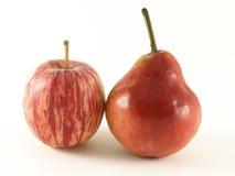 αχλάδι μήλων Στοκ Φωτογραφίες