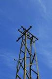 Αχρησιμοποίητος ηλεκτρικός πόλος, πόλος δύναμης στοκ εικόνες με δικαίωμα ελεύθερης χρήσης