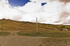Αχρησιμοποίητος λόφος σκι στο Saskatchewan στοκ εικόνες με δικαίωμα ελεύθερης χρήσης