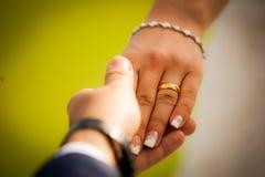 δαχτυλίδια Στοκ Φωτογραφία