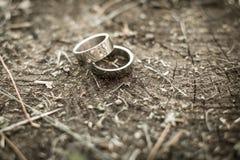 δαχτυλίδια Στοκ φωτογραφία με δικαίωμα ελεύθερης χρήσης