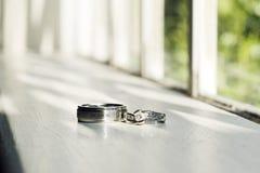 δαχτυλίδια Στοκ φωτογραφίες με δικαίωμα ελεύθερης χρήσης