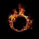 δαχτυλίδι πυρκαγιάς Στοκ Εικόνες