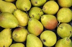 Αχλάδια στην αγορά Στοκ φωτογραφία με δικαίωμα ελεύθερης χρήσης