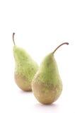 αχλάδια δύο Στοκ Εικόνες