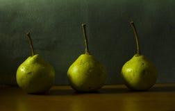 Αχλάδια Στοκ εικόνες με δικαίωμα ελεύθερης χρήσης