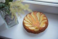 αχλάδι κέικ Στοκ Εικόνες