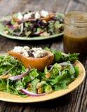Αχλάδι και Gorgonzola σαλάτα Στοκ φωτογραφίες με δικαίωμα ελεύθερης χρήσης