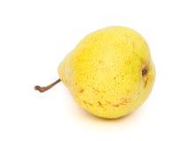 Αχλάδι στο λευκό στοκ φωτογραφία με δικαίωμα ελεύθερης χρήσης